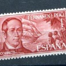 Sellos: EDIFIL 220/222 DE FERNANDO POO, EN BLOQUE DE 4. TEMAS VARIOS. VER DESCRIPCIÓN. Lote 183419618