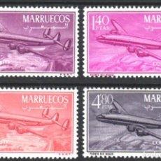Sellos: MARRUECOS, ZONA NORTE 1956 EDIFIL Nº 9 / 12 /**/, SIN FIJASELLOS, . Lote 183863242