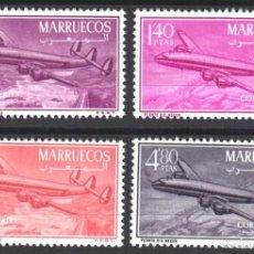 Sellos: MARRUECOS, ZONA NORTE 1956 EDIFIL Nº 9 / 12 /**/, SIN FIJASELLOS, . Lote 183863265