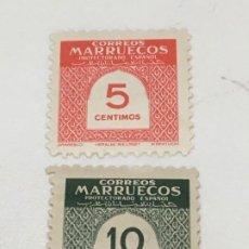 Sellos: 1953 CIFRAS- SERIE COMPLETA. NUEVOS. Lote 184456326