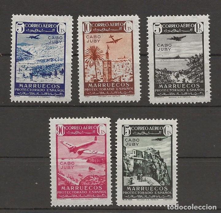 R35/ CABO YUBY, EDIFIL 133/37 MH* (Sellos - España - Colonias Españolas y Dependencias - África - Cabo Juby)