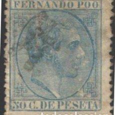 Timbres: FERNANDO POO, 1879 EDIFIL Nº 4. Lote 185418327