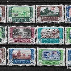 Sellos: CABO JUBY 1944 EDIFIL 138/149 ** - 17/37. Lote 185718163
