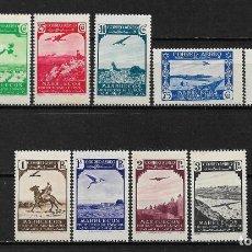 Selos: MARRUECOS 1938 SERIE COMPLETA ** - 17/37. Lote 185719228