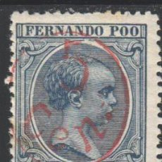 Sellos: FERNANDO POO, 1896 -1900 EDIFIL Nº 40 H /*/ . Lote 185891458