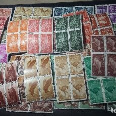 Sellos: 200, SAHARA, 50 BLOQUE X 4 SERIES COMPLETAS NUEVOS. Lote 185924382