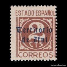 Sellos: IFNI.1948-49.ESPAÑA 1948.2C.CASTAÑO.NUEVO** MNH.EDIFIL.37. Lote 186143697