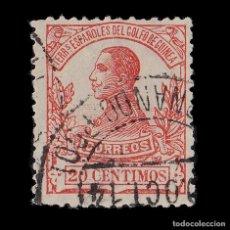 Selos: GUINEA. 1912.ALFONSO XIII.20C.ROJO.USADO.EDIFIL.90. Lote 187155940
