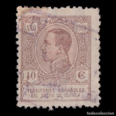 Selos: GUINEA 1920.ALFONSO XIII.40C.CAST.USADO.EDIFIL.149. Lote 187190093