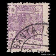 Sellos: GUINEA 1922.ALFONSO XIII.20C.LILA. USADO.EDIFIL.159. Lote 187193748