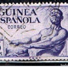 Sellos: SELLO GUINEA ESPAÑOLA // YVERT 335 // 1952 ... USADO. Lote 187380041