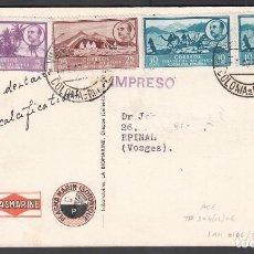 Sellos: TARJETA DE PROPAGANDA, RIO DE ORO A FRANCIA . Lote 187451800