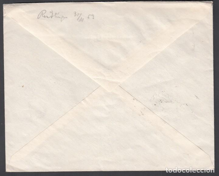 Sellos: Sobre Comercial, Tanger - Alemania, Circulado como Impresos. - Foto 2 - 187451975