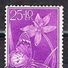 Sellos: GUINEA ESPAÑOLA EDIFIL 388/90, DIA DEL SELLO 1958, MARIPOSAS, NUEVO EN BLOQUE DE 4, GOMA ORIGINAL. Lote 187536647