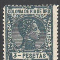Sellos: RIO DE ORO, 1907 EDIFIL Nº 30 /*/ . Lote 187642921