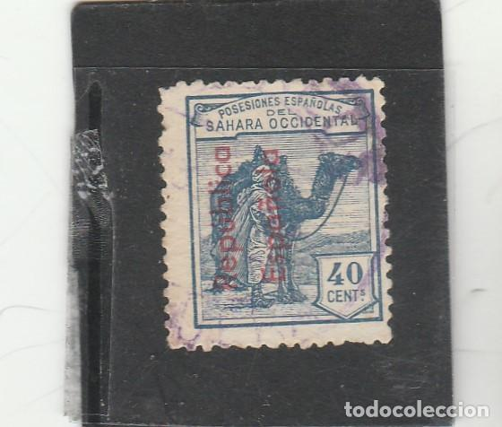 SAHARA ESPAÑOL 1943 - EDIFIL NRO. 42 - USADO - HABILITACION VERTICAL (Sellos - España - Colonias Españolas y Dependencias - África - Sahara)