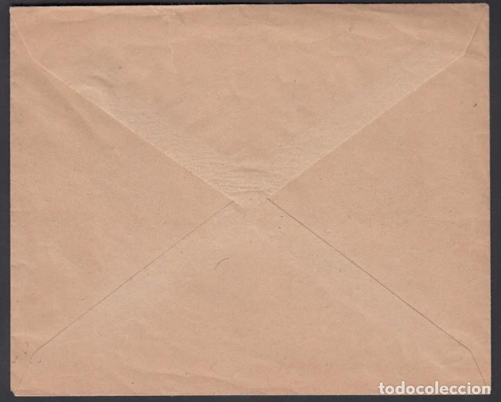 Sellos: TANGER, Correo Interior de Tanger, 1919. 20 cts verde bronce BISECTADO - Foto 2 - 189770396