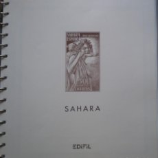 Sellos: SAHARA COLECCION AÑO 1954 A 1976 - EDIFIL 112/15 AL 322 - NUEVOS * * SIN FIJASELLOS - 28 FOTOS. Lote 189797883