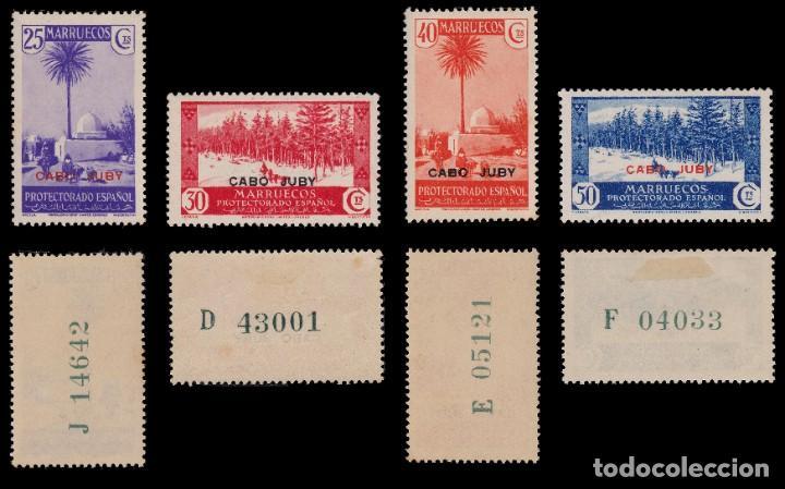 Sellos: CABO JUBY.1935-36.Habilitados.Serie.MNH-MN. Edifil 67-84 - Foto 5 - 190368095