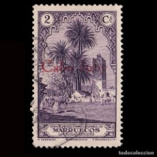 Francobolli: CABO JUBY 1934-136.HABILITADO.2C.USADO EDIFIL.51. Lote 190404320