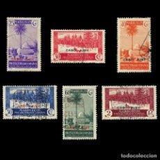 Sellos: CABO JUBY.1934-36.LOTE 6.USADO EDIFIL.79-84. Lote 190406801