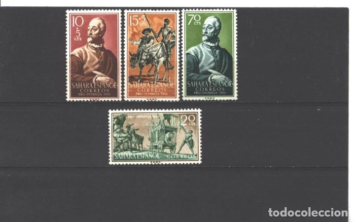 SAHARA ESPAÑOL 1958 - EDIFIL NRO. 149-52 - CHARNELA (Sellos - España - Colonias Españolas y Dependencias - África - Sahara)