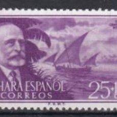 Sellos: SAHARA 1955 - EMILIO BONELLI SERIE COMPLETA NUEVA SIN FIJASELLOS EDIFIL Nº 120/122. Lote 190867885