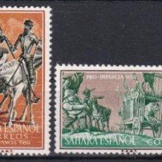 Sellos: SAHARA 1958 - PRO INFANCIA SERIE COMPLETA NUEVA SIN FIJASELLOS EDIFIL Nº 149/152. Lote 190868568