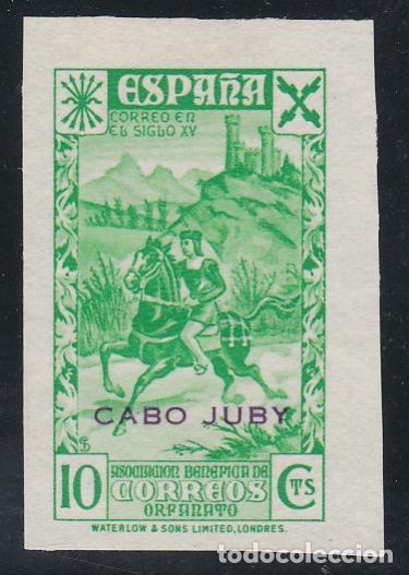 CABO JUBY.- BENEFICO Nº 2 SIN DENTAR NUEVO SIN GOMA (Sellos - España - Colonias Españolas y Dependencias - África - Cabo Juby)