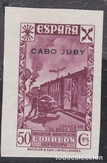 CABO JUBY.- BENEFICO Nº 4 SIN DENTAR NUEVO SIN GOMA (Sellos - España - Colonias Españolas y Dependencias - África - Cabo Juby)