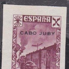 Sellos: CABO JUBY.- BENEFICO Nº 4 SIN DENTAR NUEVO SIN GOMA . Lote 191347776
