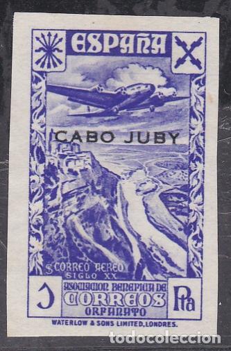 CABO JUBY.- BENEFICO Nº 5 SIN DENTAR NUEVO SIN GOMA (Sellos - España - Colonias Españolas y Dependencias - África - Cabo Juby)