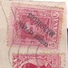 Sellos: ESPAÑA.- TANGER Nº 18 Y ESPAÑA 598 CON RODILLO DE TANGER.. Lote 191510750