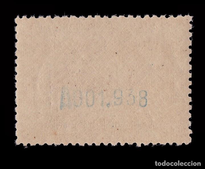 Sellos: Fernando Poo.1929 Alfonso XIII.10p. MNH Edifil 178. - Foto 2 - 191644327