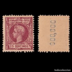 Sellos: FERNANDO POO 1902 ALFONSO XIII.25C .MNH.EDIFIL 112 Nº 000,000. Lote 191708576
