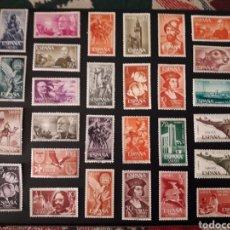 Francobolli: LOTE DE 48 SELLOS NUEVOS SAHARA ESPAÑOL.. Lote 192111673