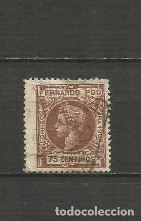 FERNANDO POO EDIFIL NUM. 145 USADO (Sellos - España - Colonias Españolas y Dependencias - África - Fernando Poo)