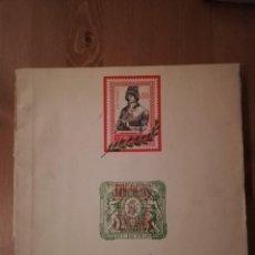 Sellos: ALBUM VACIO ,SOLO 10 SELLOS,LA AGÜERA, ELOBEY, ANNOBÓN Y CORISCO, FERNANDO POO,RÍO MUNI Y RÍO DE ORO. Lote 192504178