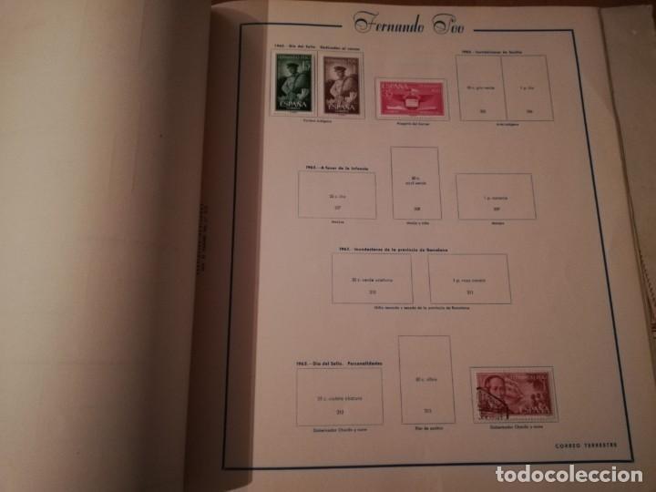 Sellos: Album vacio ,solo 10 sellos,La Agüera, Elobey, Annobón y Corisco, Fernando Poo,Río Muni y Río de Oro - Foto 5 - 192504178
