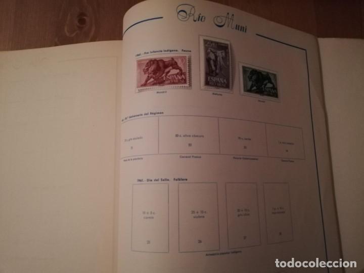Sellos: Album vacio ,solo 10 sellos,La Agüera, Elobey, Annobón y Corisco, Fernando Poo,Río Muni y Río de Oro - Foto 7 - 192504178