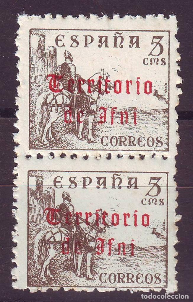 Sellos: IFNI 38 hc ** SIN CHARNELA. CALCADO AL DORSO VC 40 EUROS - Foto 2 - 193027218