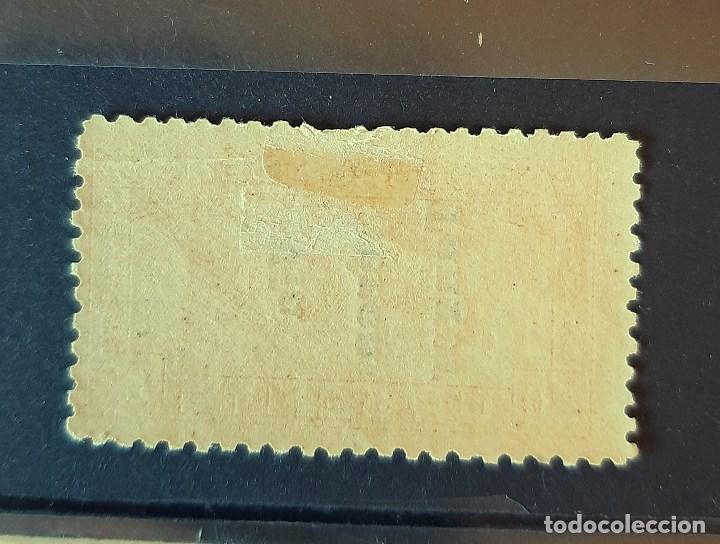 Sellos: SELLO TANGER - 1938 - EDIFIL 141 HI - HABILITADO INVERTIDO - /*/ NUEVO SEÑAL FIJASELLO - Foto 2 - 193444535