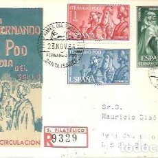 Timbres: FDC 1964. Lote 193802720