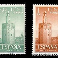 Sellos: IFNI. 193/94 AYUDA A SEVILLA. Lote 193813683