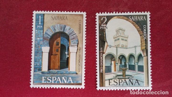 *+ Nº 314**/315** SAHARA - SERIE PRO-INFANCIA - AÑO 1974 - LEER DESCRIPCIÓN (Sellos - España - Colonias Españolas y Dependencias - África - Sahara)