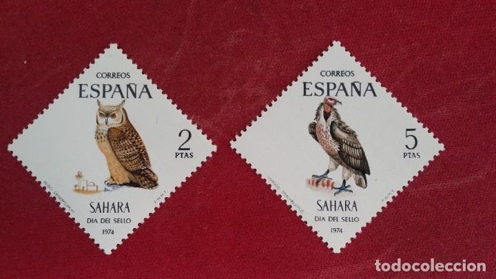 *+ Nº 317**/318** SAHARA - SERIE DÍA DEL SELLO - AÑO 1974 - LEER DESCRIPCIÓN (Sellos - España - Colonias Españolas y Dependencias - África - Sahara)