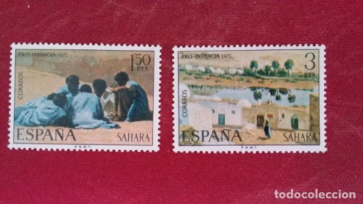 *+ Nº 320**/321** SAHARA - SERIE PRO-INFANCIA - AÑO 1975 - LEER DESCRIPCIÓN (Sellos - España - Colonias Españolas y Dependencias - África - Sahara)