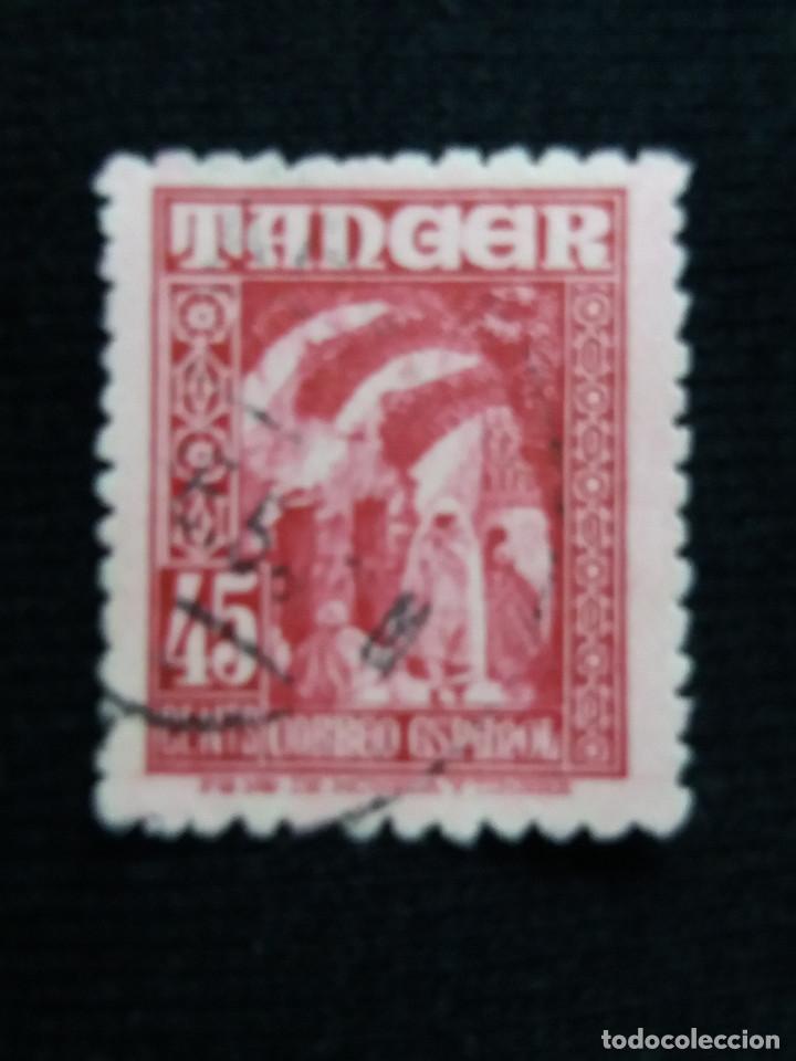MARRUECOS ESPAÑOL, TÁNGER 10 CTS, AÑO 1940. (Sellos - España - Colonias Españolas y Dependencias - África - Marruecos)
