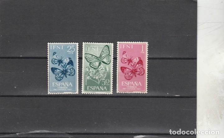IFNI 1963 - EDIFIL NRO. 195-97 - NUEVOS - GOMA AMARILLA DEL TIEMPO (Sellos - España - Colonias Españolas y Dependencias - África - Ifni)