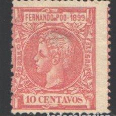 Timbres: FERNANDO POO, 1899 EDIFIL Nº 62. Lote 194869751